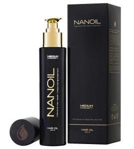 Nanoil hår olje